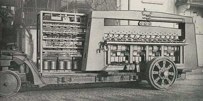 The first mesh welding machine 1946